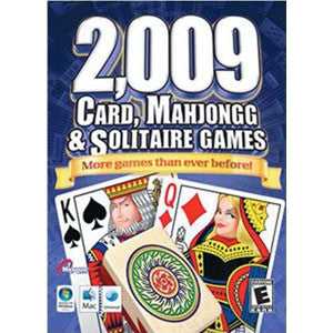 2,009 Card, Mahjongg & Solitaire Games - MAC CD-ROM