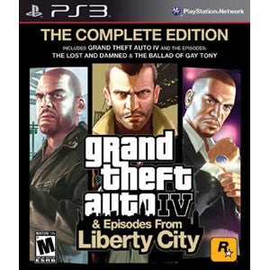 Grand Theft Auto IV : Complete - PlayStatrion 3