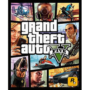 Grand Theft Auto V - PC DVD ROM