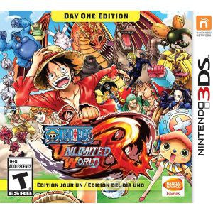 3DS One Piece Ulim Day 1 Action