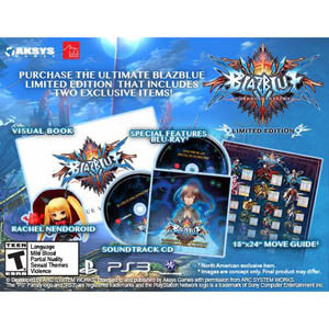 Blazblue Chrono Phantasma Limited Edition - Playstation 3