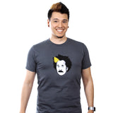Blonde-Stripe Einstein Shirt