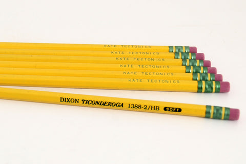 Pack of 7 Kate Tectonics Pencils