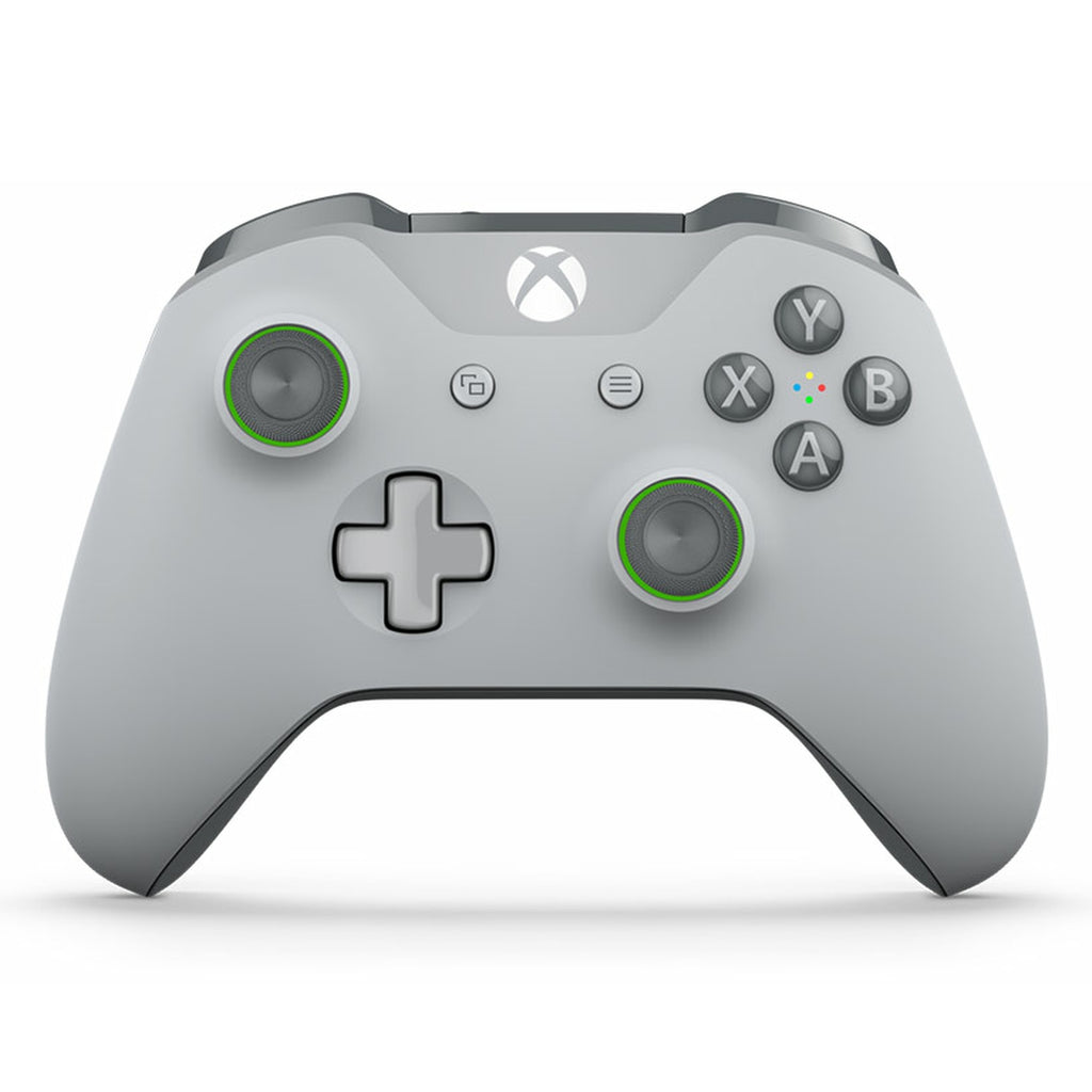XBOX ONE S Modded Controller - XMOD 100 Mode, Grey / Green