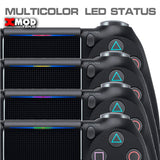 PS4 Modded Controller - XMOD 30 Pro Modes, Blue Camouflage