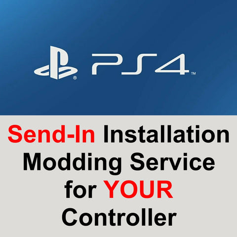 PS4 - DualShock 4, Send-In Modding Installation Service - XMOD 30 Pro Modes