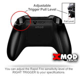 XBOX ONE S Modded Controller - XMOD 100 Mode, Black