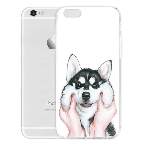 Siberian Husky Iphone Cover