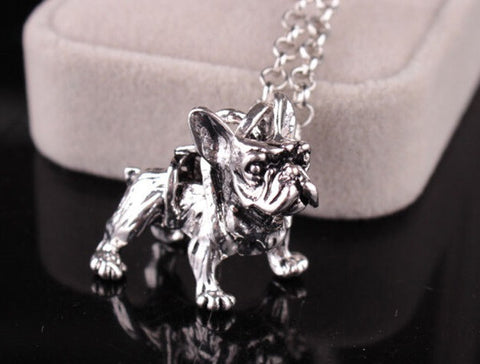 French Bulldog Necklace