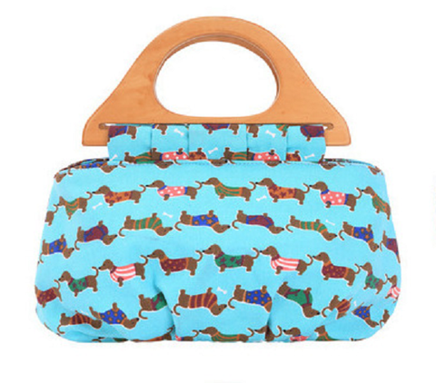 Dachshund Canvas Bag