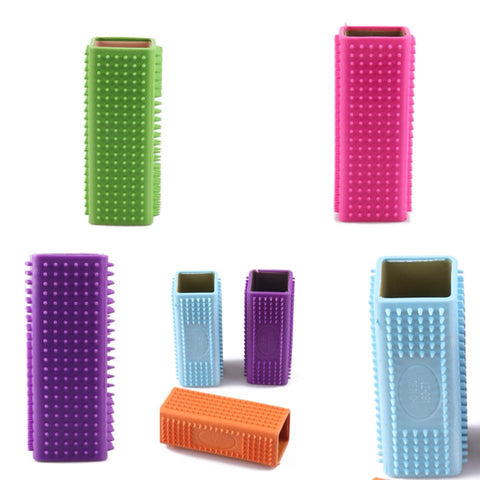 Ezy Grip Shedding Brush     Blue, Green, Orange, Pink, Purple,Yellow