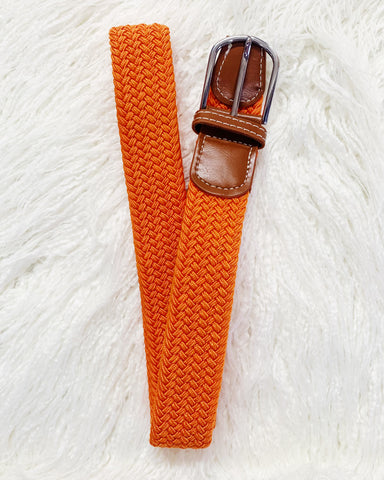 Urban Horsewear Stretch Belt Orange