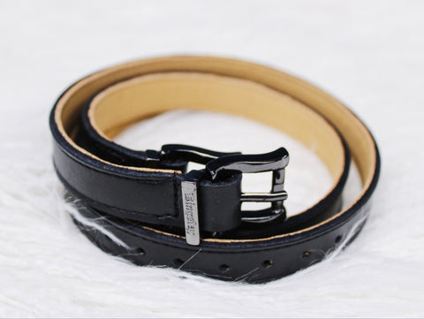 Kingsley Spur Straps - Plain Black