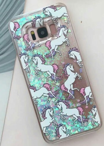 IPhone Horse Glitter Cover