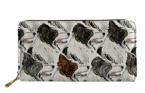 Border Collie Dog Purse