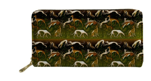 Greyhound Dog Wallet