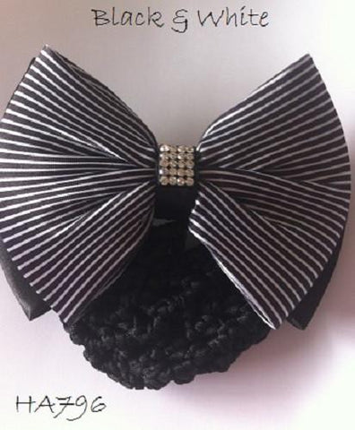 Black & White Hair Bow