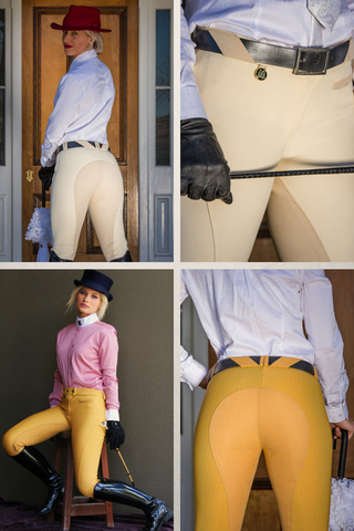 Peter Williams Ladies Full Seat Show  Breeches