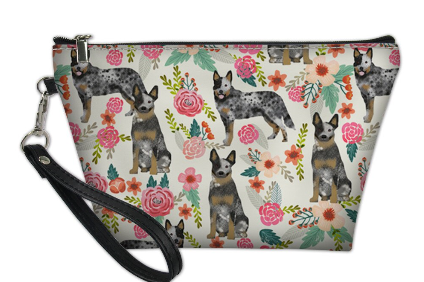 Australian Cattle Dog Toiletry/Makeup Bag