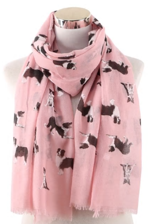 Border Collie Dog Scarf