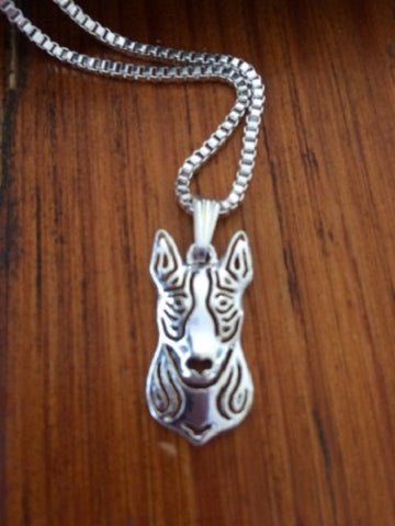 Bull Terrier Dog Necklace