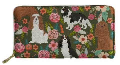 Cavalier King Charles Spaniel Dog Wallet