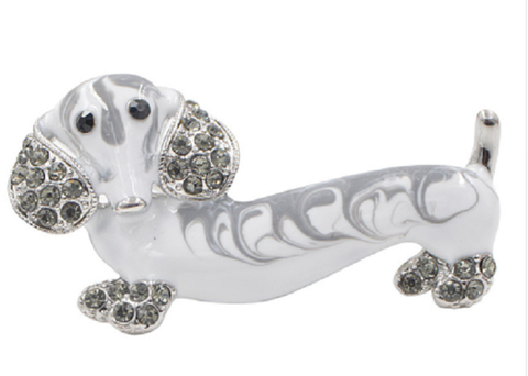 Dachshund Brooch Pin
