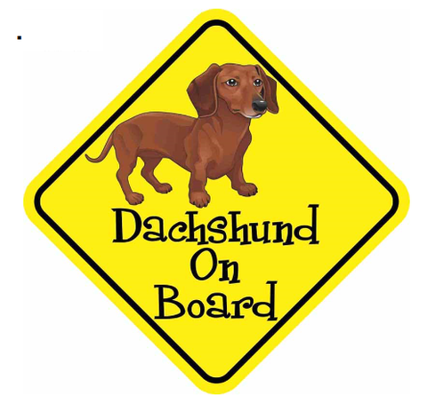 Dachshund Dog Decal Sticker