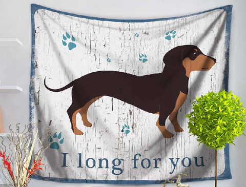 Dachshund Dog Table Cloth