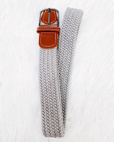 Urban Horsewear Silver Stretch Belt