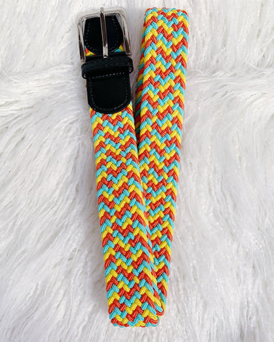 Urban Horsewear Yellow/Orange/Teal