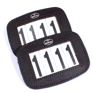 Hamag™ Leather Bridle Number Pair 4 Digit