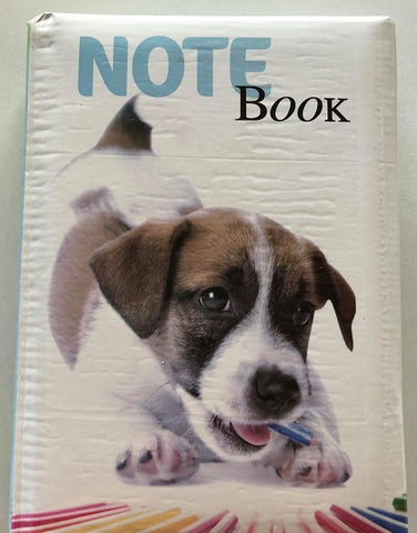 Jack Russell Terrier Puppy Dog Note Book