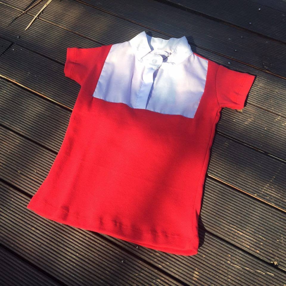 Red Childrens Competition Ratcatcher Shirt