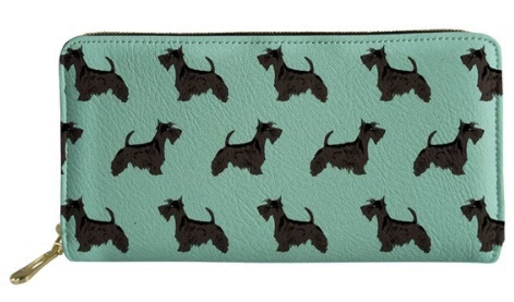 Scottish Terrier Dog Wallet Purse