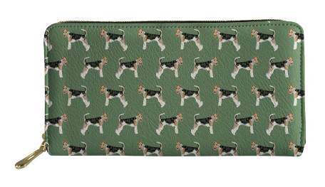 Wire Haired Fox Terrier Dog Purse
