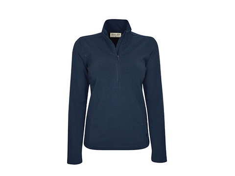 Thomas Cook Zip Neck Skivvy Navy