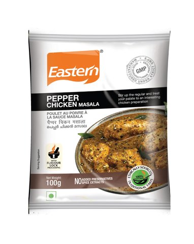 Eastern Pepper Chicken Masala