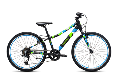 "Guardian Airos 24"" Black Blue Green Bike - formally called Original"