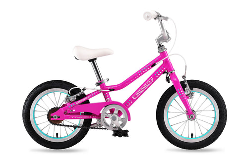 Product image for 14 inch bike, front view of bike