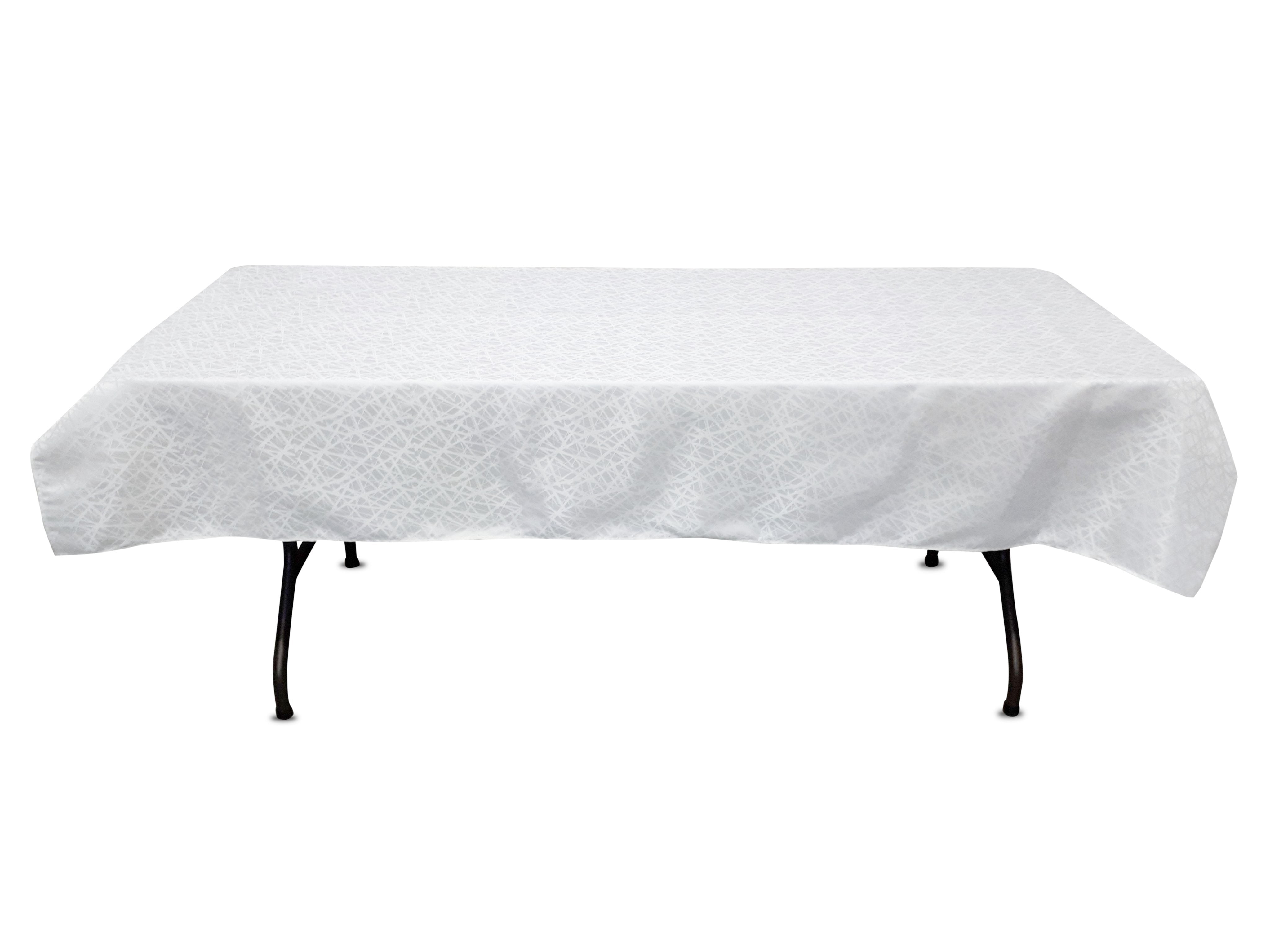 54u0027u0027 X 80u0027u0027 Tablecloth (crystal Pattern)