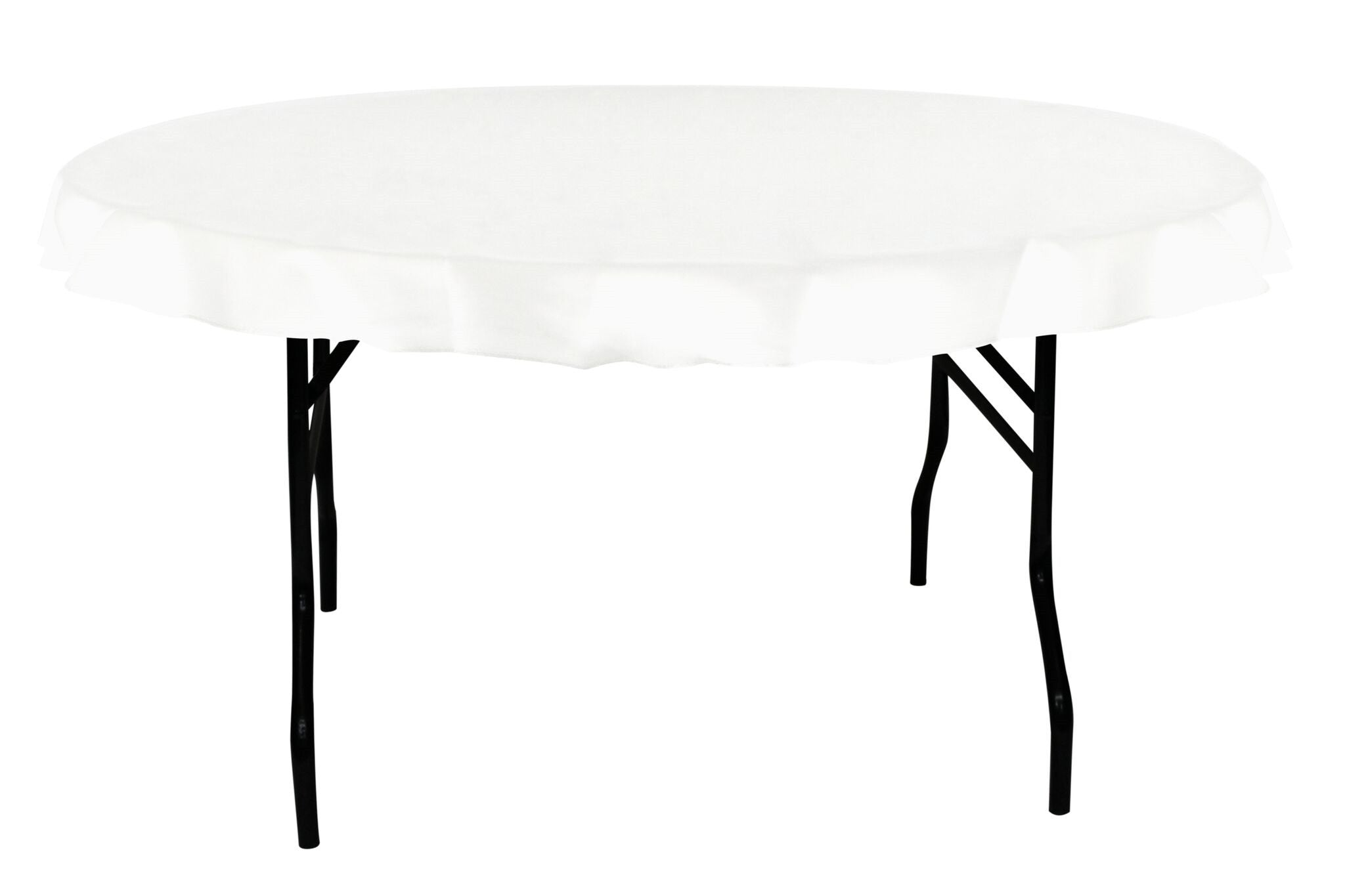 White round tablecloths cheap - 70 Round Tablecloth