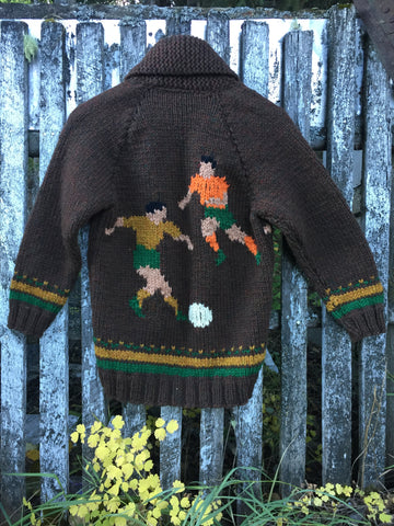 'Footy' Wool Sweater
