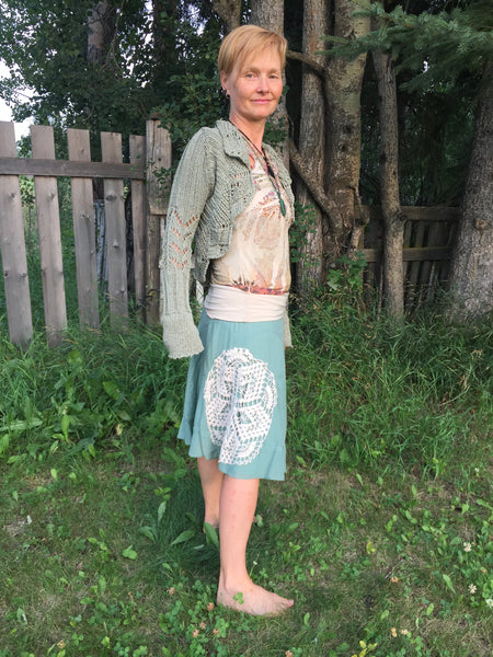 'River Daughter' Upcycled Skirt