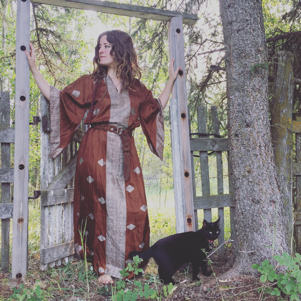 'Woodstock' Witchy Kaftan