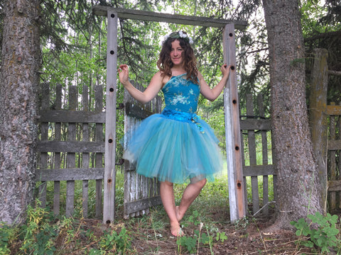 'Water Fairie' Tutu Dress