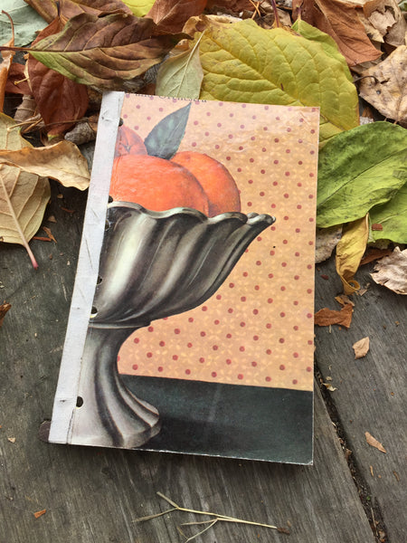 'Citrus Kiss' UPcycled Journal