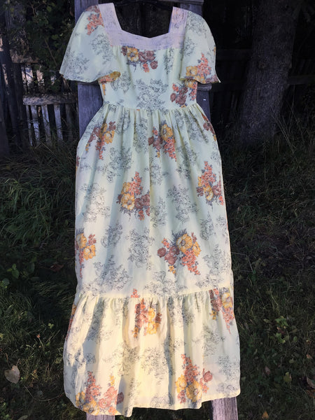 'Blossom' Vintage Gown