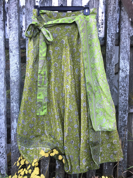 'Green Lady' Upcycled Skirt