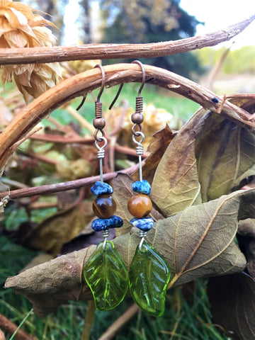 'Tremble' Upcycled Earrings